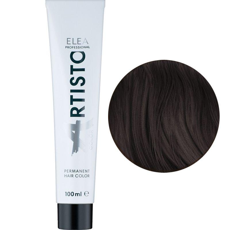Крем-краска для волос Elea Professional Artisto Color 5.12 (светлый шатен пепельно-фиолетовый) 100 мл