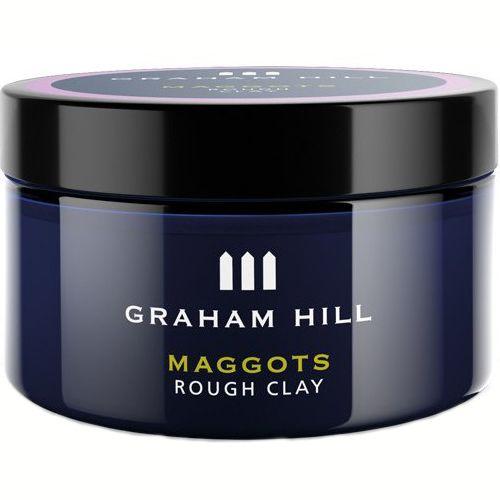 Паста для волос матовая сильной фиксации Graham Hill Maggots Rough Clay 75 мл