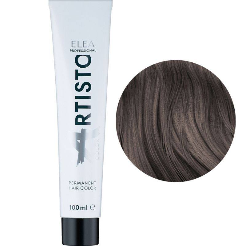Крем-краска для волос Elea Professional Artisto Color 6.71 (коричнево-пепельный темно-русый) 100 мл