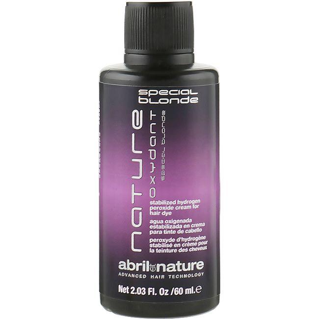 Окислительная эмульсия с антижелтым эффектом Abril et Nature Oxydant Special Blonde 12% 60 мл