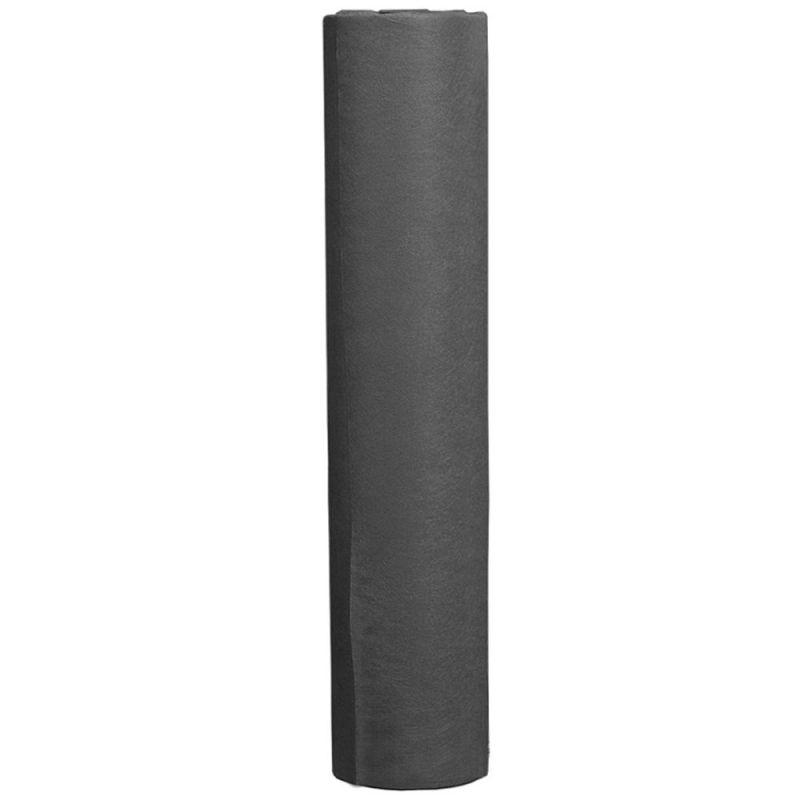 Простыни одноразовые в рулоне Monaco 0.6х100 м 20г/м2 (спанбонд, черный)