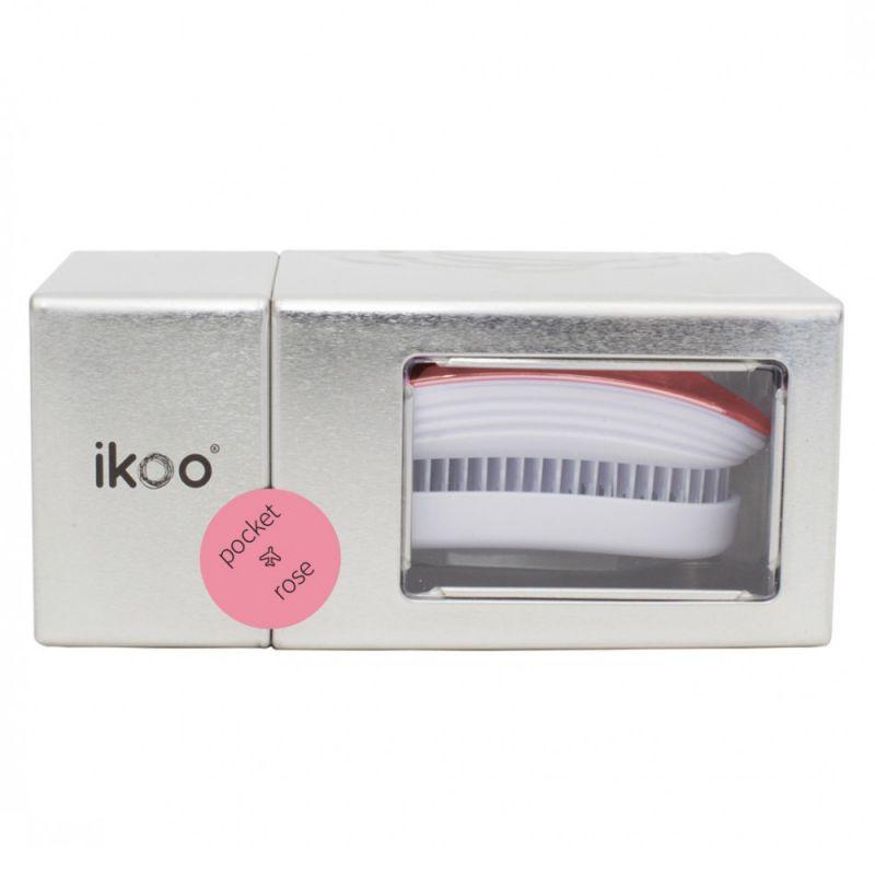 Расческа для волос Ikoo Metallic Pocket Rose