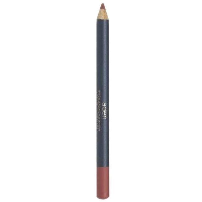 Карандаш для губ Aden Lip Liner Pencil Nude Elegance №28 (телесный)