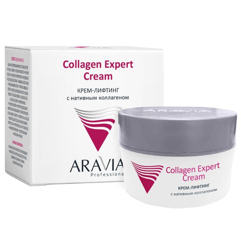 Крем-лифтинг Aravia Collagen Expert Cream (с нативным коллагеном) 50 мл