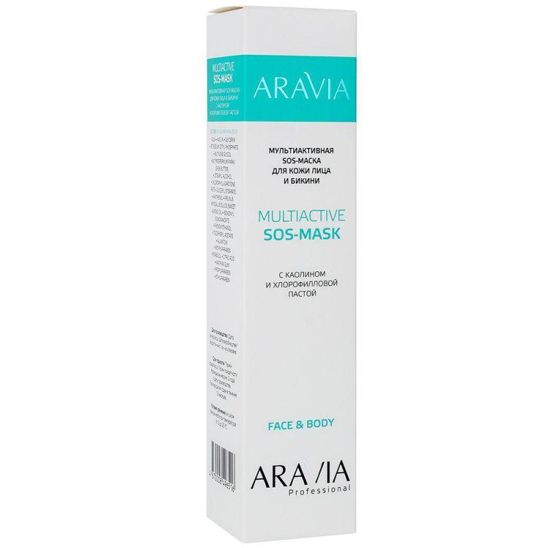 Маска для кожи лица и бикини Aravia Multiactive SOS-Mask Face&Body 100 мл