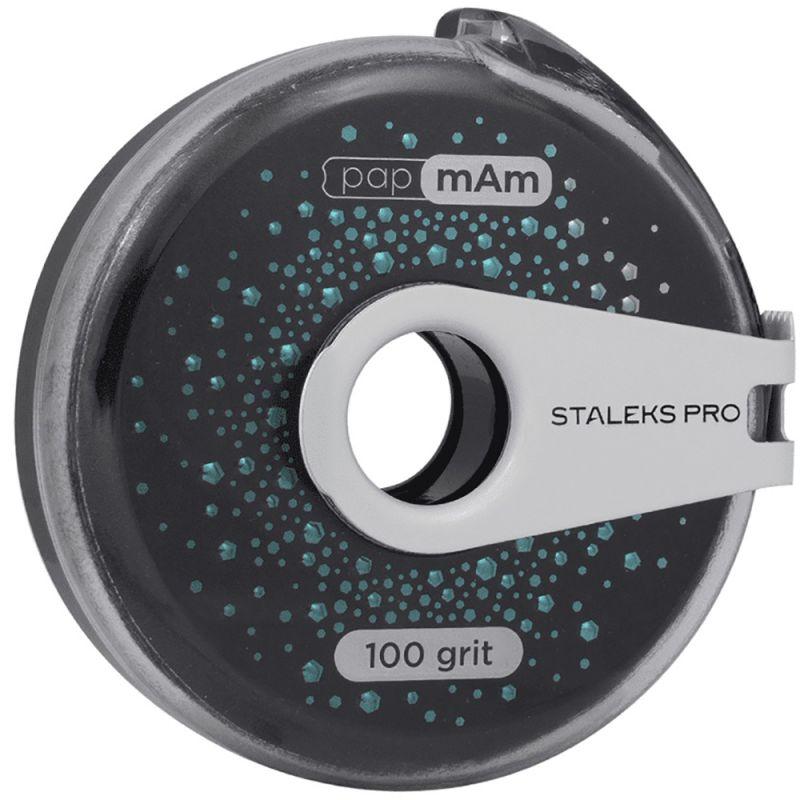 Сменный файл-лента в катушке Staleks Pro Bobbi Nail Exclusive (100 грит) 8 м