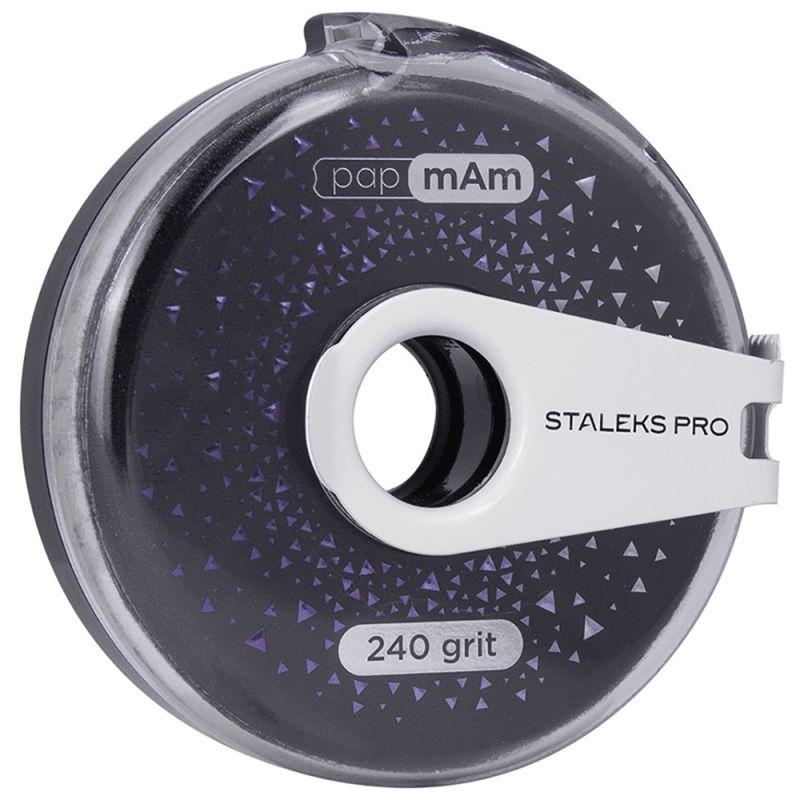 Сменный файл-лента в катушке Staleks Pro Bobbi Nail Exclusive (240 грит) 8 м