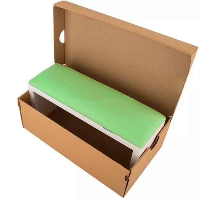 Подлокотник для маникюра Rainbowstore Green
