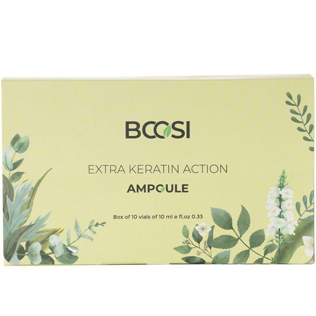 Ампулы для восстановления волос Kleral System Bcosi Extra Keratin Action 1x10 мл
