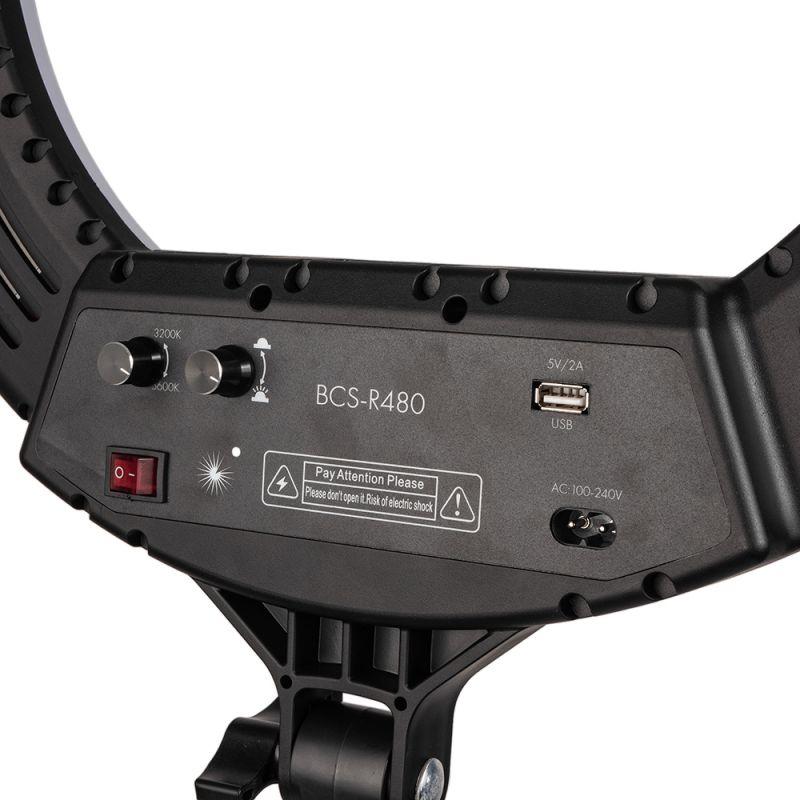 Кольцевая лампа Bucos BCS-R480 Ring Light Lamp 80 Вт