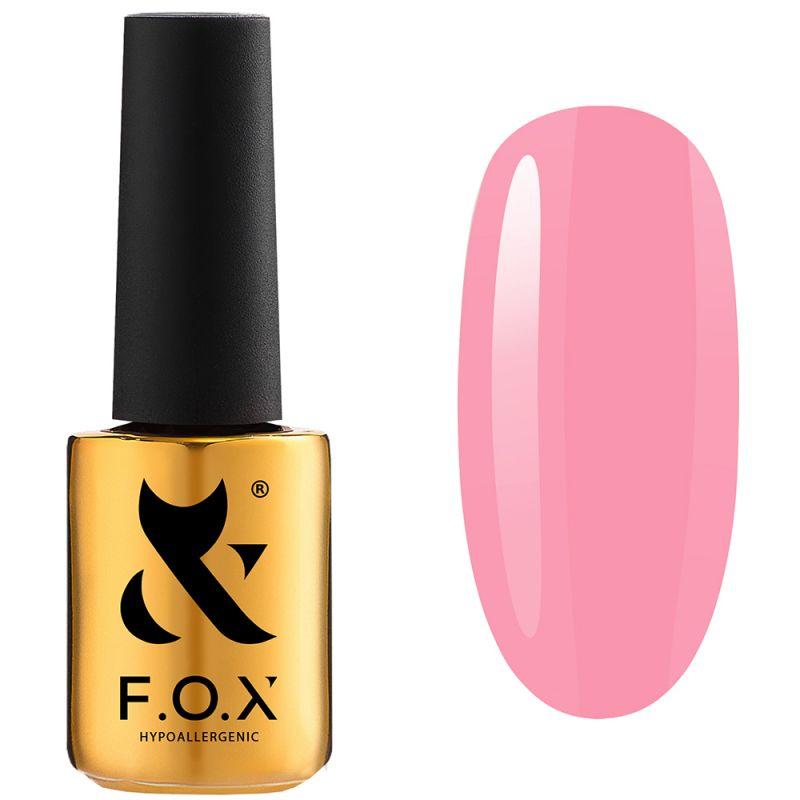Гель-лак F.O.X Pink Panther №003 (бледно-розовый, эмаль) 7 мл
