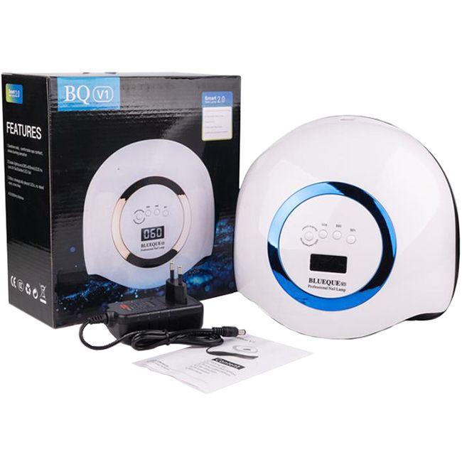 Лампа для маникюра SUN BQ-V1 LED-UV Blue 168 Вт