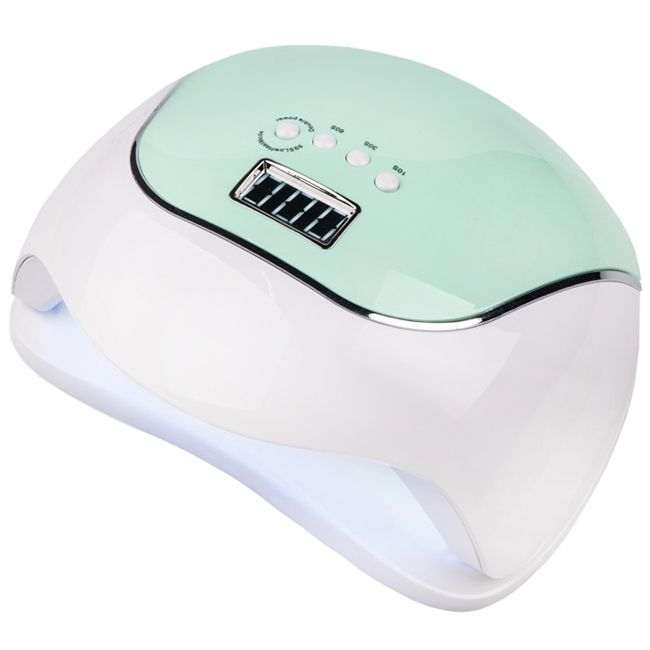 Лампа для маникюра SUN BQ-V5 LED-UV Macaroon Green 120 Вт