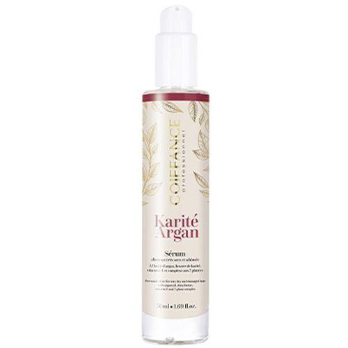 Лечебный эликсир для питания и восстановления сухих и поврежденных волос Coiffance Karite Argan 50 мл