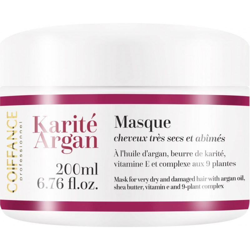 Интенсивная питательная маска для окрашенных волос Coiffance Karite Argan 200 мл