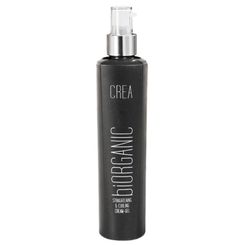 Крем-гель для выравнивания и завивки волос MAXXelle Crea Biorganic Straightening & Curling Cream Gel 200 мл
