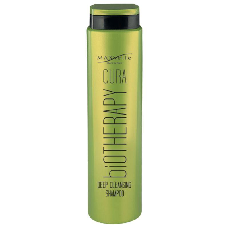 Шампунь глубокого очищения против перхоти MAXXelle Cura Biotherapy Deep Cleansing Shampoo 250 мл