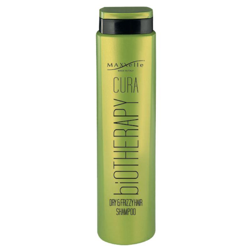 Шампунь для сухих и вьющихся волос MAXXelle Cura Biotherapy Dry & Frizzy Hair Shampoo 250 мл