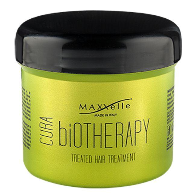 Маска для поврежденных волос MAXXelle Cura Biotherapy Treated Hair Treatment 500 мл
