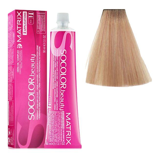 Крем-краска для волос Matrix Socolor.beauty 10MM (супер светлый блондин мокка) 90 мл