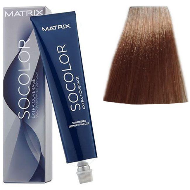 Крем-краска для волос Matrix Socolor.beauty Extra Coverage 510N (супер светлый натуральный блондин, для седины) 90 мл