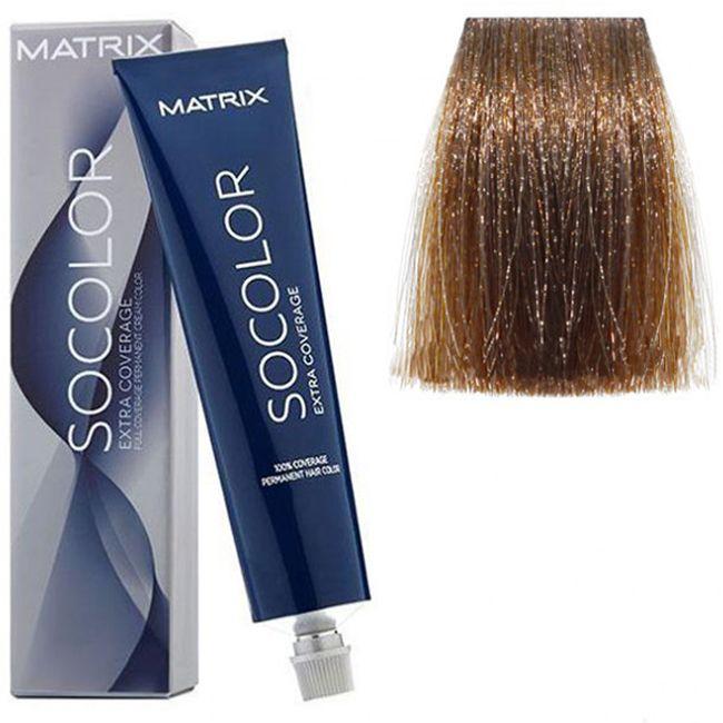 Крем-краска для волос Matrix Socolor.beauty Extra Coverage 508N (светлый блондин, для седины) 90 мл