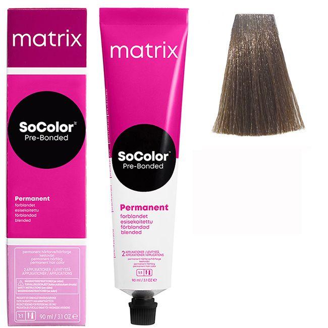 Крем-краска для волос Matrix Socolor.beauty 6NV (натуральный перламутровый темный блондин) 90 мл