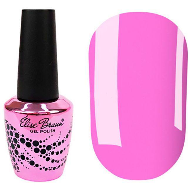Гель-лак Elise Braun №192 (фиолетово-розовый, эмаль) 7 мл