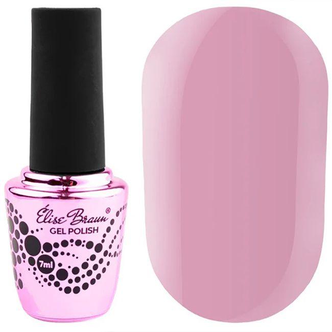 Гель-лак Elise Braun №279 (лилово-розовый, эмаль) 7 мл