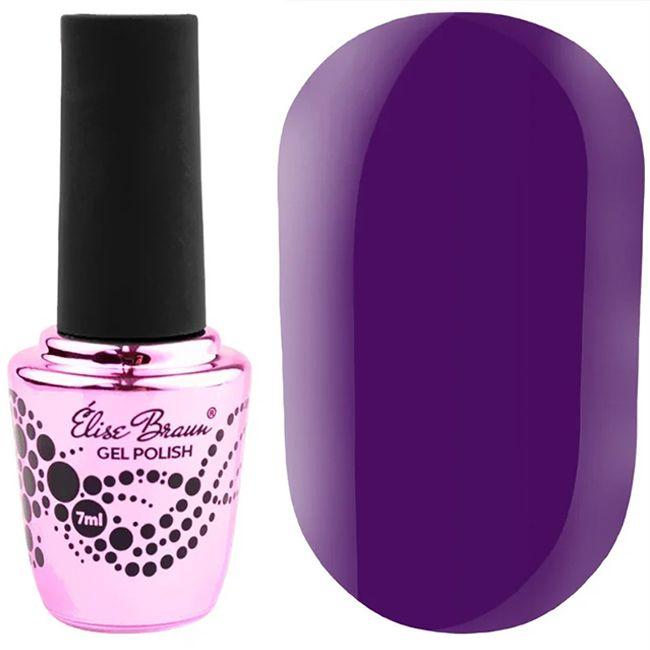 Гель-лак Elise Braun №323 (фиолетовый, эмаль) 7 мл