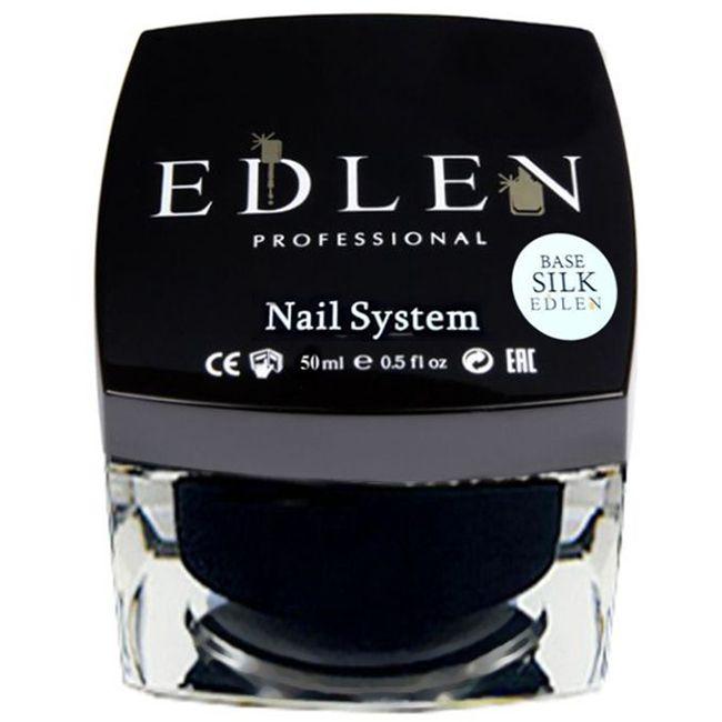 База для гель-лака с шелковыми волокнами Edlen Silk Base 50 мл