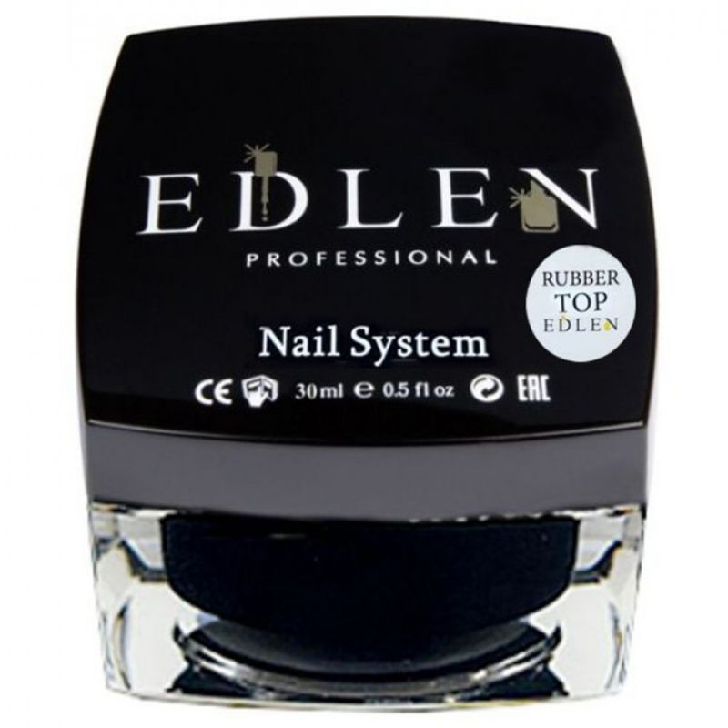 Топ для гель-лака каучуковый Edlen Top Rubber 30 мл
