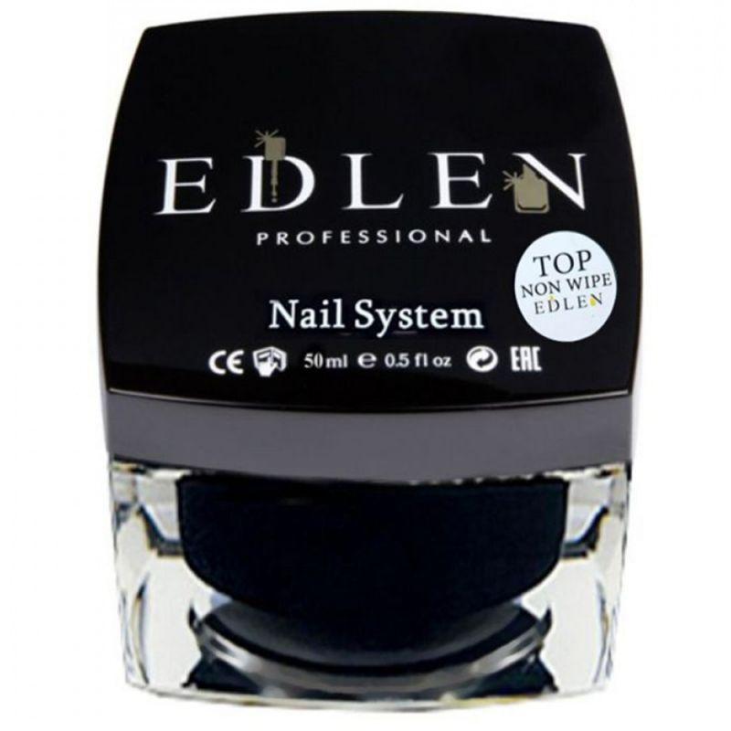 Топ для гель-лака без липкого слоя Edlen Top Non Wipe 50 мл