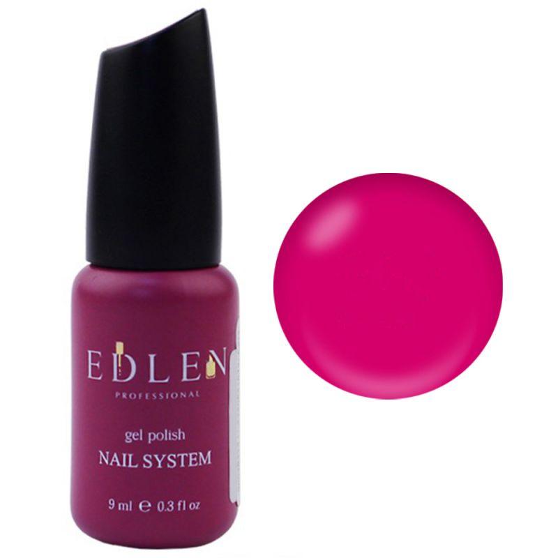 База для гель-лака Edlen Summer Neon Rubber Base №27 (неоновый фуксия) 9 мл