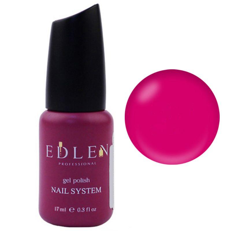 База для гель-лака Edlen Summer Neon Rubber Base №27 (неоновый фуксия) 17 мл