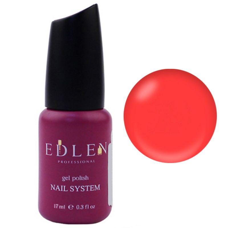 База для гель-лака Edlen Summer Neon Rubber Base №29 (неоновый красный) 17 мл