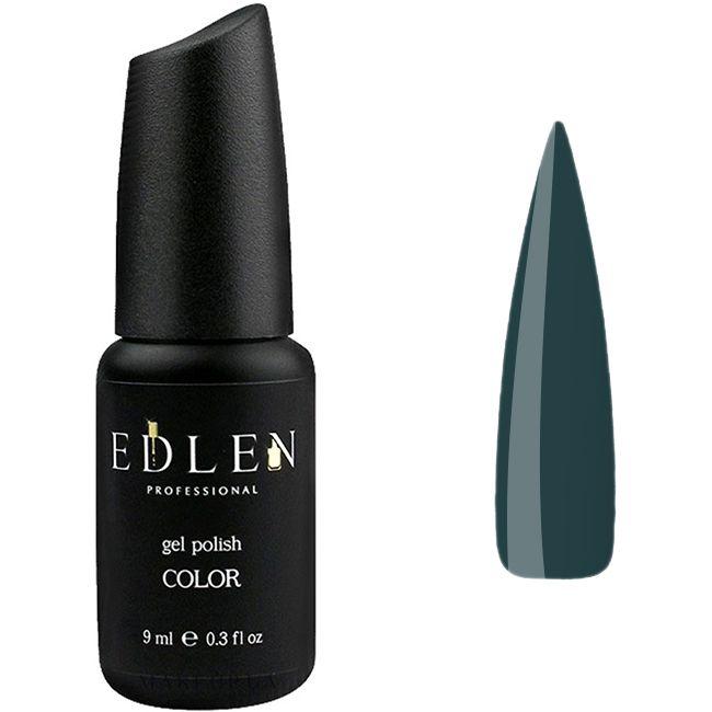 Гель-лак Edlen №22 (темно-изумрудный, эмаль) 9 мл