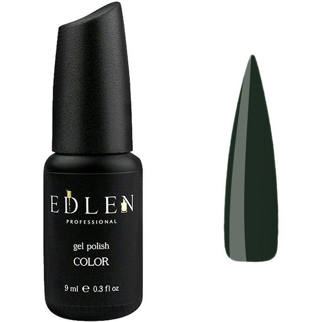 Гель-лак Edlen №23 (темно-зеленый, эмаль) 9 мл