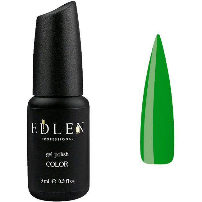 Гель-лак Edlen №26 (травяной зеленый, эмаль) 9 мл