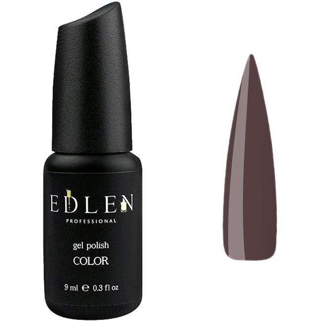 Гель-лак Edlen №29 (темный коричнево-серый, эмаль) 9 мл