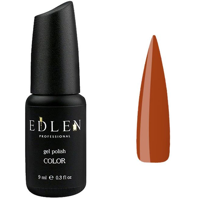 Гель-лак Edlen №35 (коричневый, эмаль) 9 мл