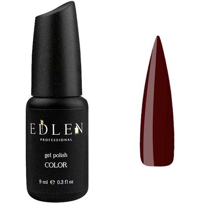 Гель-лак Edlen №39 (темно-коричневый, эмаль) 9 мл