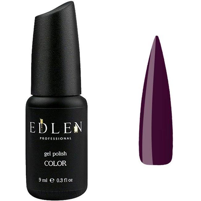 Гель-лак Edlen №40 (темный баклажан, эмаль) 9 мл