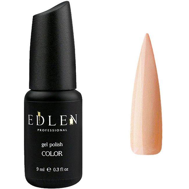 Гель-лак Edlen №43 (бежево-карамельный с шиммером) 9 мл
