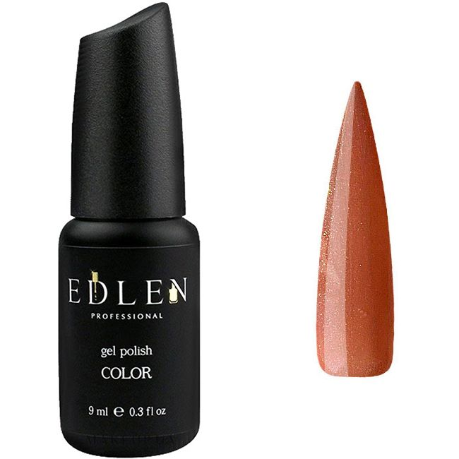Гель-лак Edlen №46 (светло-коричневый теплый с золотым шиммером) 9 мл