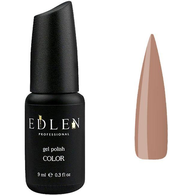 Гель-лак Edlen №50 (холодный светло-коричневый, эмаль) 9 мл