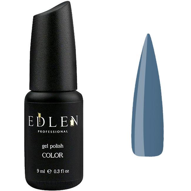 Гель-лак Edlen №84 (приглушенно-синий, эмаль) 9 мл