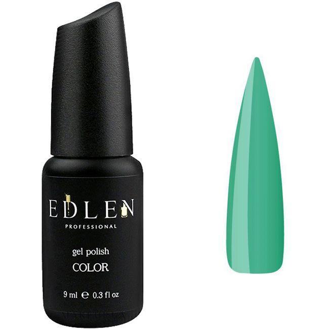 Гель-лак Edlen №141 (светло-зеленый, эмаль) 9 мл