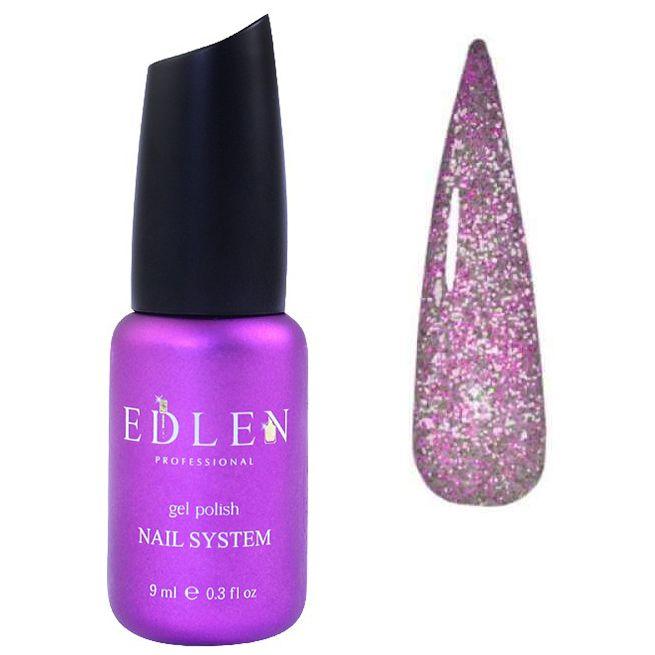 Гель-лак Edlen Flash Fire №07 (лилово-розовый, светоотражающий) 9 мл