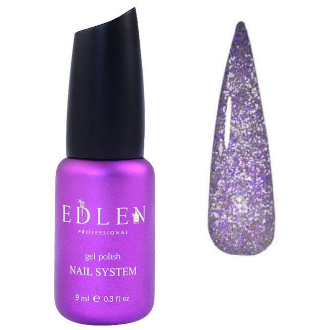 Гель-лак Edlen Flash Fire №08 (фиолетово-лиловый, светоотражающий) 9 мл